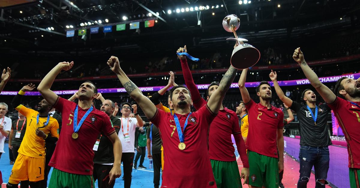บทสรุปฟุตซอลโลก 2021 โปรตุเกส ล้ม อาร์เจนฯ 2-1 ซิวแชมป์โลกสมัยแรก